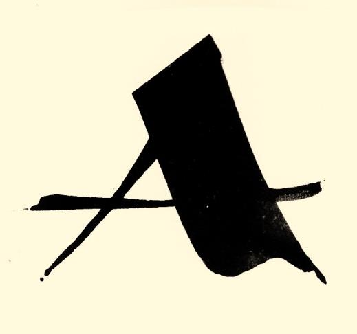 Illustration till en artikel om kalligrafi.