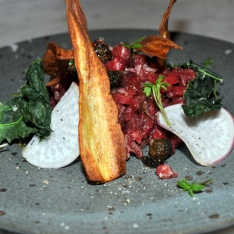 Preedinner Steak tartar