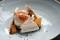 Sockerkaka, vaniljglass och egna rabarber