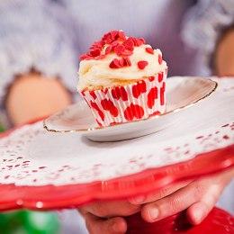 Cupcake hjärtan