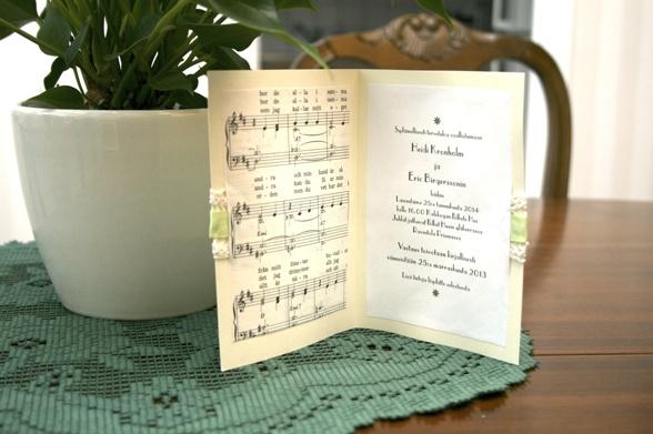 Inbjudningskort bröllop gör-det-själv