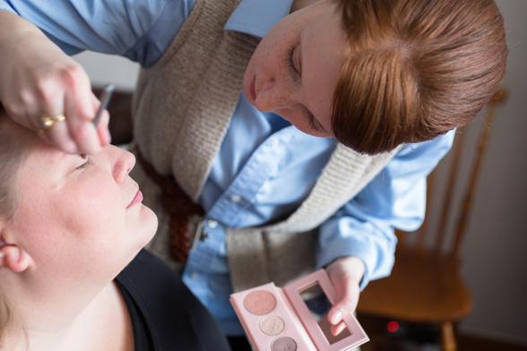 brudtärna makeup