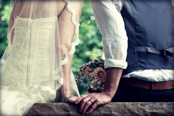 Teres och David Jordan gifte sig i Philadelphia den 21 maj 2011. Foto: Daniel Fullham