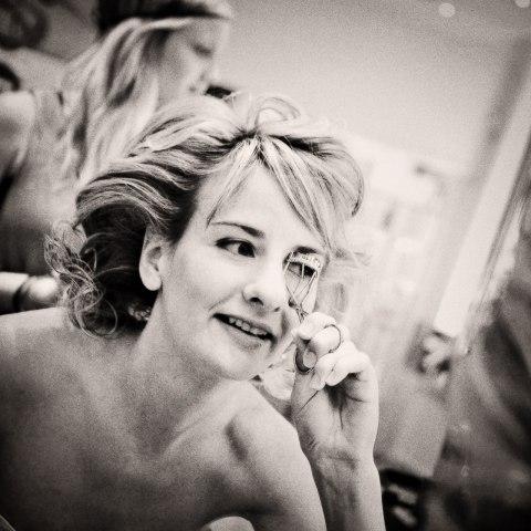 Lägg din egen brudmakeup. Foto: Martina Thalwitzer/OurDay.se