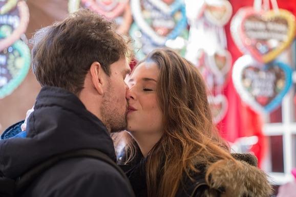 Kyssande par, Pixabay