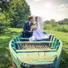 bröllopsbåt
