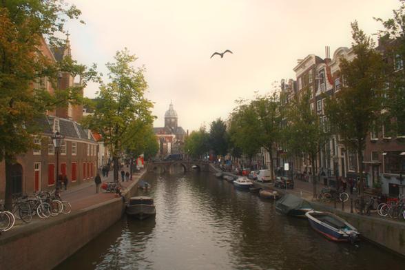 Amsterdam, Bröllopsresa