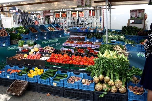 Marknad i Enschede