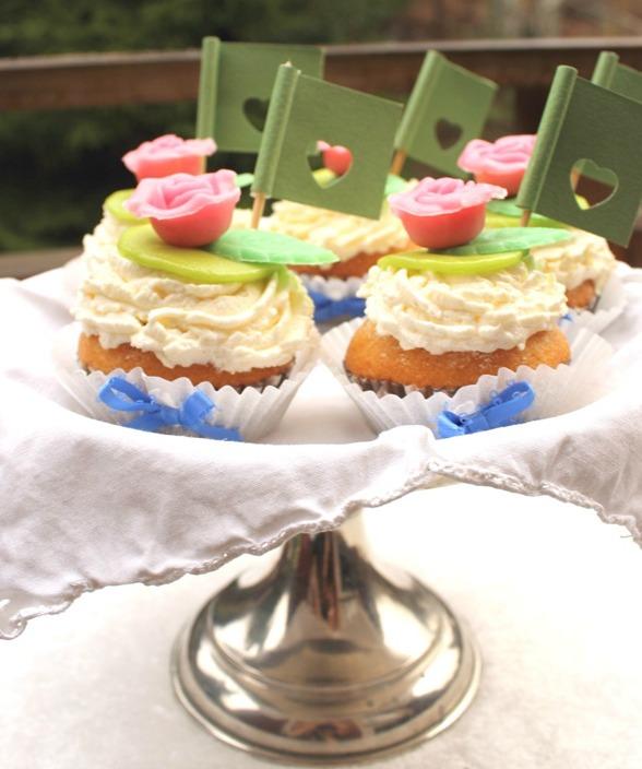 Ekologiska glutenfria cupcakes, foto: Anna Hjärp