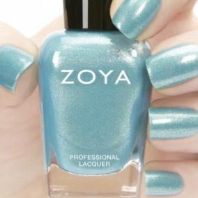 blått nagellack från Ecoholics