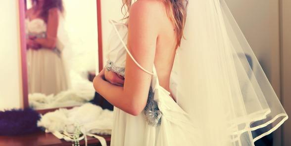 Nej, inte min klänning. Lovar att visa bild efter bröllopet. Foto: Pixabay