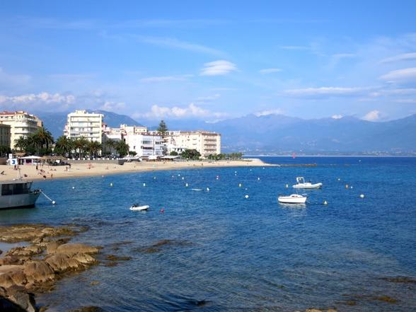 stranden Ajaccio