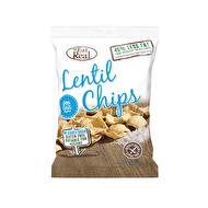 Sea Salt Lentil Chips by Eat Real @eatrealsnacks vegan • gluten free Ingredienser: Linsmjöl (48%), potatisstärkelse, vegetabilisk olja (raps), havssalt