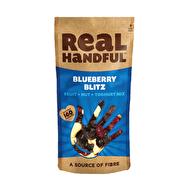 Blueberry Blitz Snack Mix by Real Handful @realhandful vegan • gluten free Ingredienser: Russin (30%) [russin, solrosolja ], cashewnötter (25%), blåbär Smaksatt Sötade torkade tranbär (25%) [Socker, tranbär, naturliga smakämnen , vatten, solrosolja ], äppeljuice Infused blåbär (20%) [Blåbär, äppeljuice koncentrat, solrosolja ]. För allergener, se ingredienser i fetstil. Förpackad i en fabrik som hanterar jordnötter, nötter och spannmål som innehåller gluten.