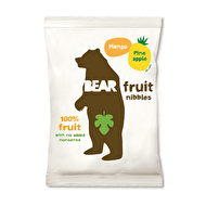 Mango & Pineapple Fruit Nibbles by Bear @bearnibbles vegan • gluten free Ingredienser: Mango (50%), ananas (50%), pressad citron
