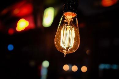 Glödlampa vardagsinnovation