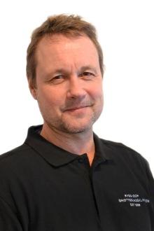 En bild av Kristian Berg, grundare av Rygg- och Idrottsskadekliniken.