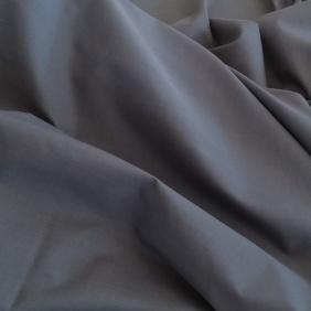 Percale underlakan enkelbädd, grå