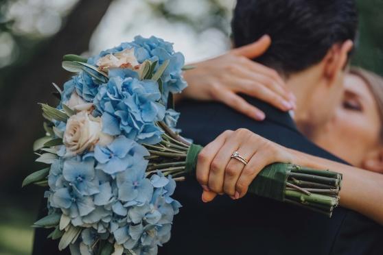 brudbukett, bukett, brud, tärna, tärnor, bröllop, inspiration, bröllopsinspiration, blommor, hortensia, blå