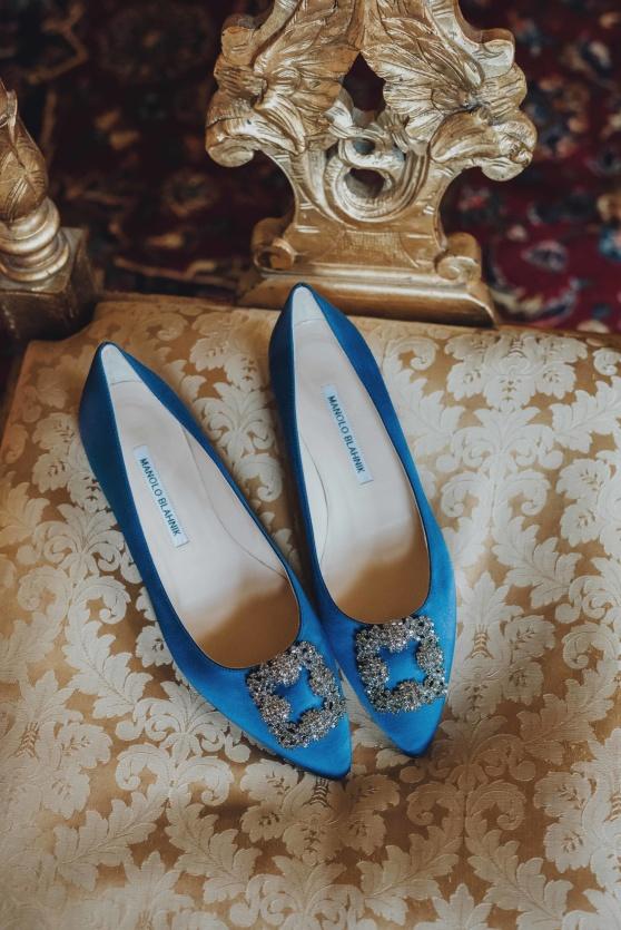 skor, bröllop, bröllopsskor, pumps, inspiration, tips, klackar, ingen klack, blå, manolo blahnik