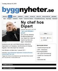 Byggnyheter.se, november