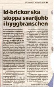 Dagens Nyheter, 25 januari