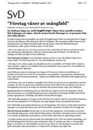 Svenska Dagbladet, 19 maj