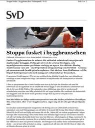 Svenska Dagbladet, 8 feb
