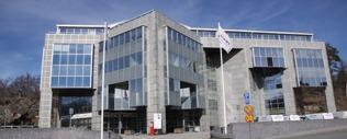 Huvudkontoret i Nacka Strand