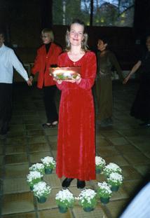 Avtackningsfest i Markuskyrkan