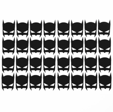 Wall stickers - Små Batman ikoner