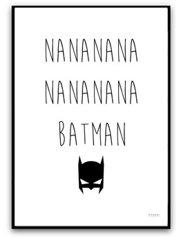 Nanana.. Batman - A4 matt fotopapper