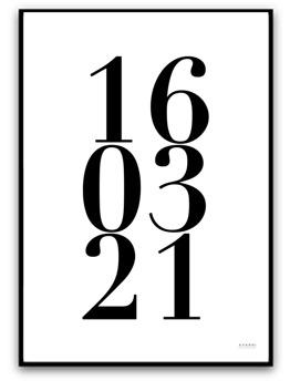Födelsebild - A4 matt fotopapper