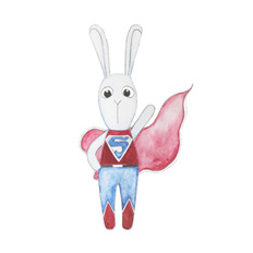 Wall stickers - Super bunny boy
