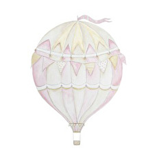 Wall stickers - Pink air balloon