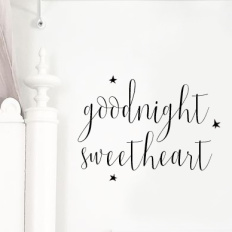 Wall stickers - Goodnight sweetheart