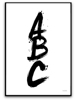 Poster - ABC - A5 matt fotopapper