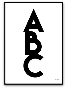 Poster - ABC - A5 matt fotopapper