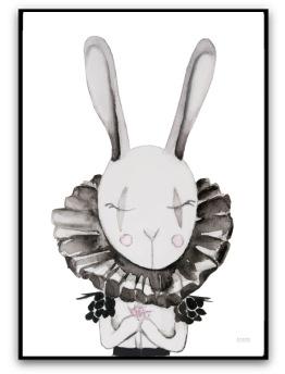 Poster - Bella bunny - A4 matt fotopapper