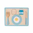 Frukostbricka - Pussel - Blå