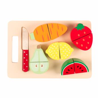 Frukt & grönsaksbricka barn -