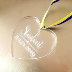 Studenthalsband - Hjärta