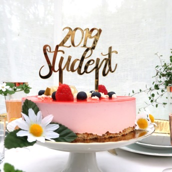 Studentskylt 2019 - Guld -