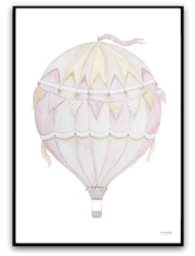 Pink air balloon