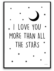 I love you more than all the stars