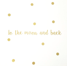 Wall stickers - To the moon and back