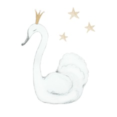 Wall stickers - Swan