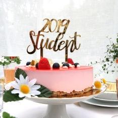 Studentskylt 2019 - Guld