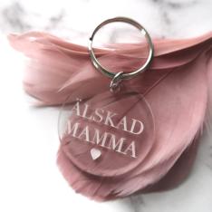Nyckelring - Älskad mamma