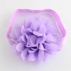 Pannband med stor blomma